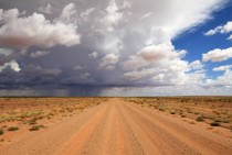 Rains in the desert are beautiful SA Australia  x