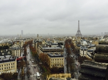 Rainy Parisian Afternoon th December
