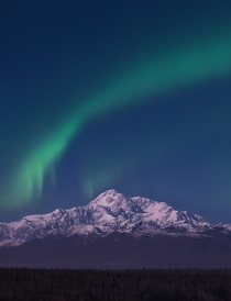 Raised - Denali meaning the big one Alaska -