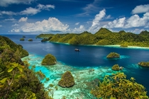 Raja Ampat West Papua Indonesia  by Andreas Lschner