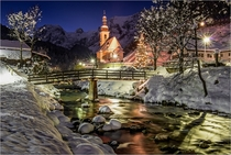 Ramsau in Berchtesgaden Germany  by Hannes Brandsttter x-post rGermanyPics