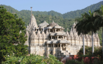 Ranakpur Jain temple complex in the Pali district of Rajasthan INDIA dates back to the th century This temple is built in Mru-Gurjara architecture