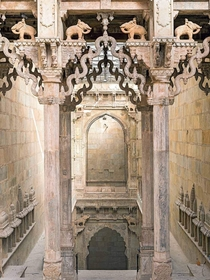 Raniji ki Baori is a step well located in Bundi Rajasthan India