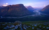 Rapa Valley in Sarek National Park Lapland Sweden by DCT Laputa