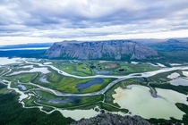 Rapa valley in Sarek National park Sweden  photo by Fabian Schmid