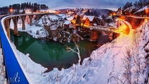 Rastoke in winter Slunj Croatia by Aleksandar Gospi