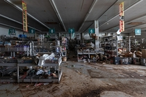 rats and boars took over a shop in the radioactive Fukushima exclusion zone