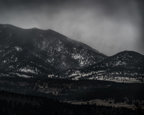 Read a book about Ansel Adams and was inspired to shoot this while staying in Estes Park Colorado