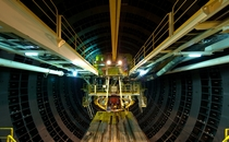 Rear of the Ohashi tunnel tunnel boring machine  by Ken Ohyama  x-post rHI_Res