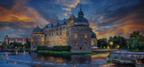rebro Castle is a medieval castle fortification at Svartn in rebro County Sweden