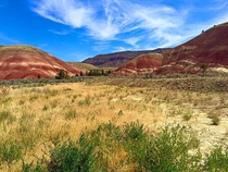 Recent Trip to the Painted Hills Oregon