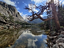 Recent visit to Rocky Mountain National Parks Colorado US The Loch along the trail towards Skye Pond