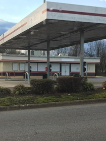 Recently Abandoned Speedway Gas Station