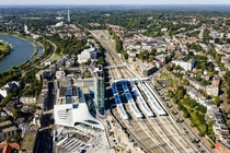 Recently opened Arnhem Central Station The Netherlands