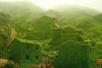 Reclaimed by naturethe abandoned Chinese town of Houtouwan