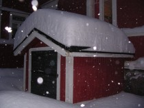 Record Snowfall in Porvoo Finland