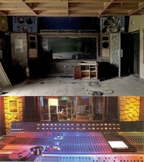 Recording space of AIR Studios on the island of Montserrat - Host to many artists and notable for producing such albums as Synchronicity by The Police and Dire Straits Brothers In Arms