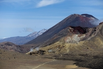 Red Crater and Mount Ngauruhoe Mount Doom in NZ