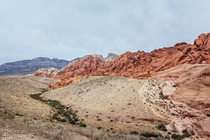 Red Rock Canyon in Las Vegas Nevada