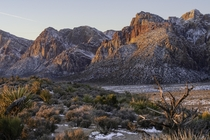 Red Rock National Conservation Area outside of Las Vegas  x