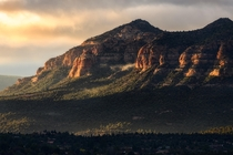 Red Rocks at sunrise in Sedona Arizona