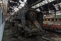 Red Star Train rots slowly