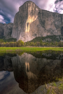 Reflecting with El Cap Yosemite National Park