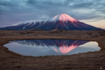 Reflection at Kamchatka Russia Taken by Ivan Smelov