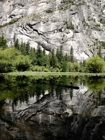 Reflection in Yosemite National Park