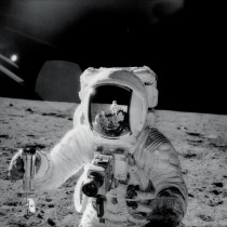 Reflections - Alan Bean fourth person to walk on the Moon during Apollo  - the second manned mission to land on the Moon