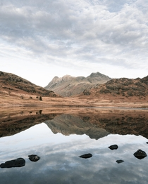 Reflections at Blea Tarn Lake District  OC