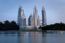Reflections at Keppel Bay Singapore