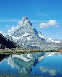 Reflections in the Alps The Matterhorn