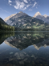 Reflections in the Tetons  x