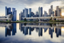 Reflections of the Singapore Cityscape