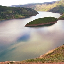 Reflections  Taken by goku_explores on Instagram Taken at Katse Lesotho