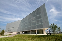 Regional library called Knowledge Center in Pcs Hungary