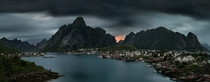 Reine is a fishing village and the administrative centre of the municipality of Moskenes in Nordland county Norway  photo by Pawel Kucharski
