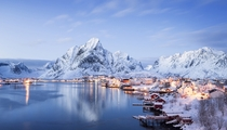 Reine Lofoten Islands Norway  photo by Felix Rser