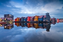 Reitdiephaven Groningen The Netherlands  photo by Daniel Bosma