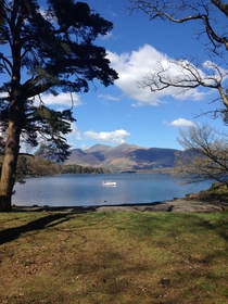 Relaxing weekend at Derwent Water Lake District