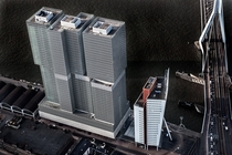 Rem Koolhaas latest completed skyscraper De Rotterdam Rotterdam Netherlands