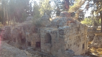 Remains of a church from the Byzantine Empire