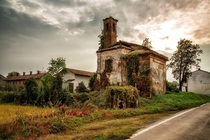 Remains of a Church in Merate Italy  by Sergio Locatelli