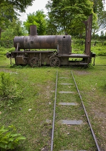 Remains of an old miniature gauge train used by French colonists on Don Khong in Laos Island By Eric Lafforgue