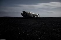 Remains of The Slheimasandur plane crash Iceland oc