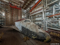 Remains Of The Soviet Space Shuttle Program desert of Kazakhstan  by Ralph Mirebs Story and more pics in comments