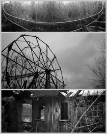Remnants of Chippewa Lake Amusement Park in NE Ohio