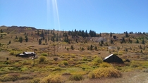 Remnants of the old mining district just outside Leadville CO