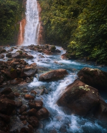 Remote Waterfall in Costa Rica